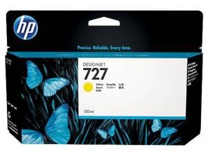 Tusz HP 727 130 ml Yellow B3P21A