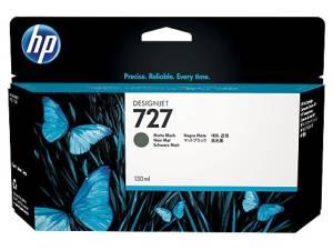 Tusz HP 727 130 ml Matte Black B3P22A