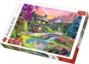 Puzzle 500 elementów - Górska sielanka