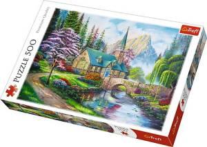 Puzzle 500 elementów - Leśne zacisze