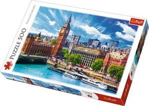 Puzzle 500 elementów - Słoneczny Londyn