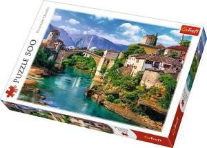 Puzzle 500 elementów - Stary Most w Mostarze, Bośnia i Hercegowina