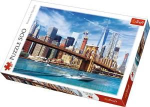 Puzzle 500 elementów - Widok na Nowy Jork