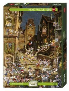 Puzzle 1000 elementów - Romantyczne miasto, noc