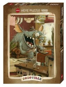 Puzzle 1000 elementów - Zozoville, Dzień prania