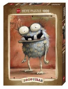 Puzzle 1000 elementów - Zozoville, Wielkie oczy