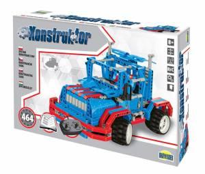 Zestaw konstrukcyjny Konstruktor - Auto na radio, 464 elementy