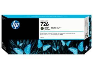 Tusz HP 726 300 ml Matte Black CH575A