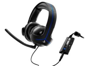 Słuchawki Gaming Y-300P czarne PS4, PS3