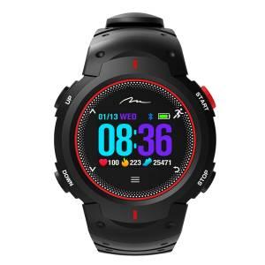 Zegarek X-FIT typu smartband | Pomiar ciśnienia, pulsu, zawartości tlenu | Bluetooth 4.0