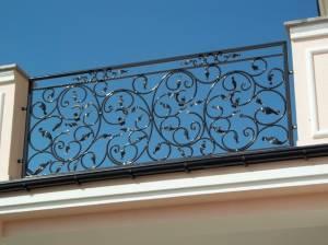 Ogrodzenia metalowe, bramy, balkony stalowe