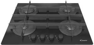 Płyta gazowa szklana CVG 64 STGN czarna
