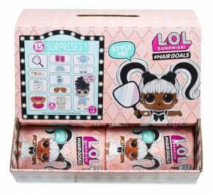 Figurki L.O.L. Surprise Hairgoals display 2x12 szt.