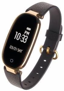 Smartwatch Diana czarno-złoty
