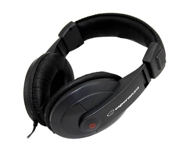 Esperanza Słuchawki  EH120 AUDIO STEREO/REG GLO/3.5/6.3mm