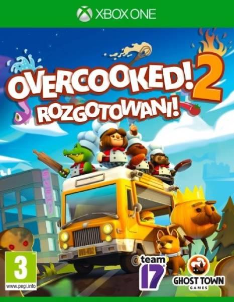 Gra Xbox One Overcooked 2 Rozgotowani