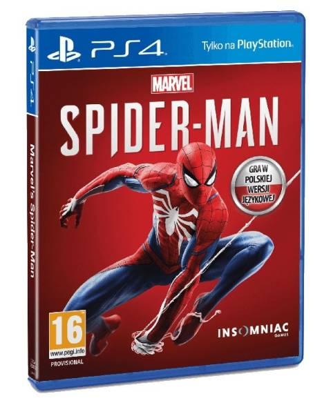 Gra PS4 Spider-Man Marvels