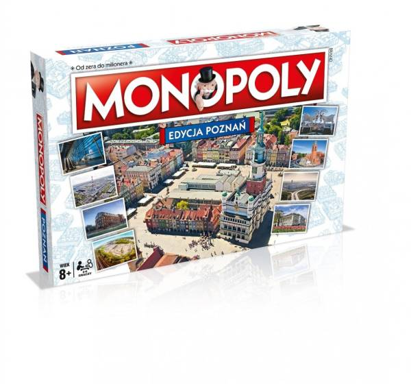 Gra Monopoly Poznań