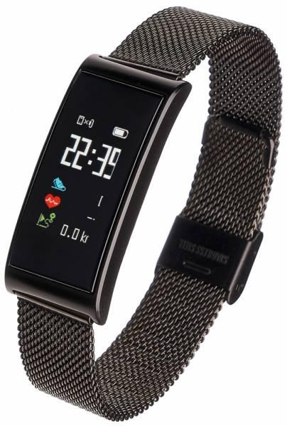 Smartwatch Women Tina czarny, stalowy
