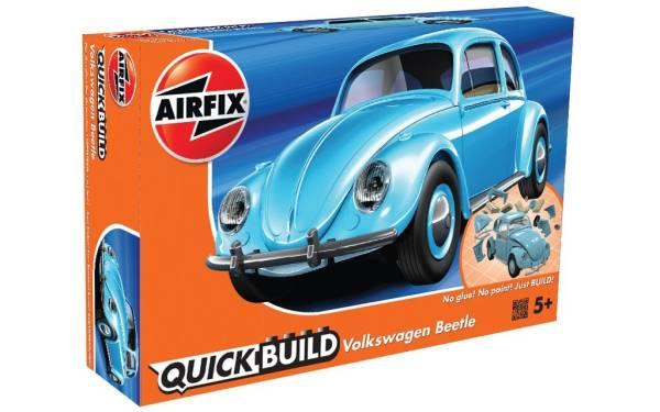 Model plastikowy QUICKBUILD VW Beetle Blue