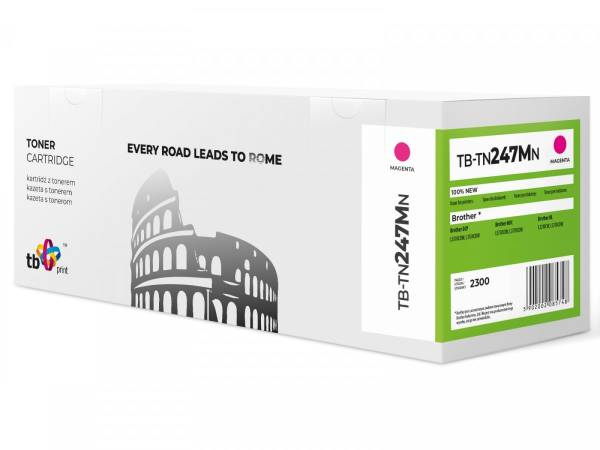 Toner do Brother TN247M TB-TN247MN MA 100% nowy