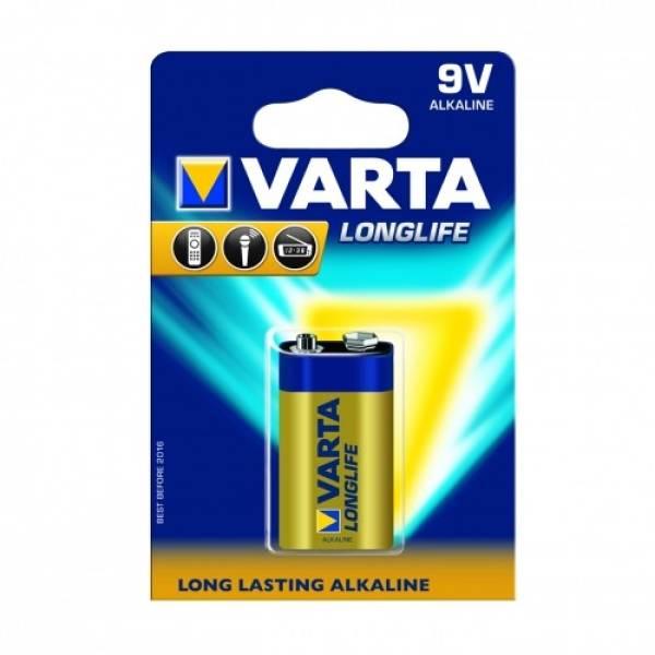 Bateria alkaliczna Hi-Voltage 9V (typ 6LR61) Longlife 10szt.