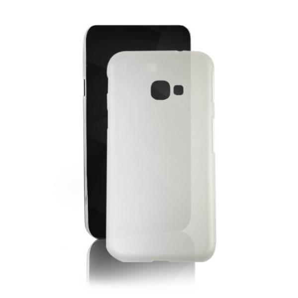 Etui na Samsung Galaxy Xcover 4, PC Hard Clear, mleczne