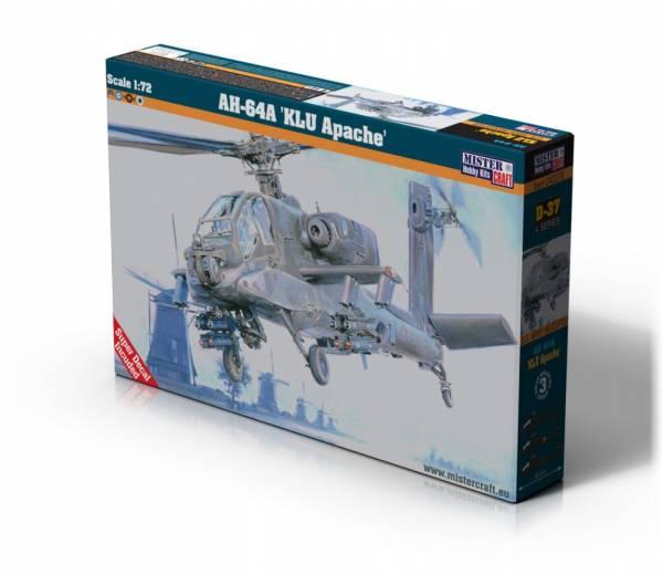 Model plastikowy AH-64A KLU Apache