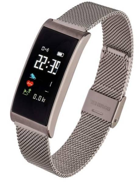 Smartwatch WOMAN TINA srebrny stalowy