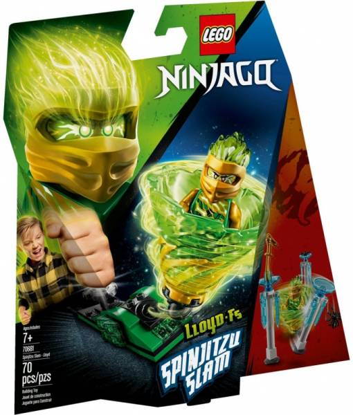 Klocki Ninjago Potęga Spinjitzu - Lloyd