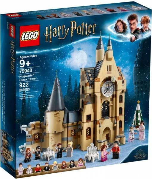 Klocki Harry Potter Wieża zegarowa na Hogwarcie