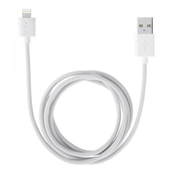 Belkin Kabel USB-A - Lightning MFi 2m biały