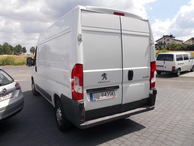Peugeot Boxer 2015r. 2200cm3 130KM 91000km olej napędowy (diesel)