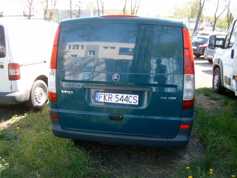 Mercedes Vito 2010r. 2143cm3 163KM 330836km olej napędowy (diesel)
