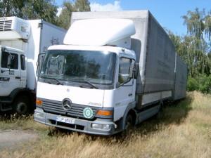 Mercedes ATEGO 2000r. 4250cm3 125KM 545217km olej napędowy (diesel)