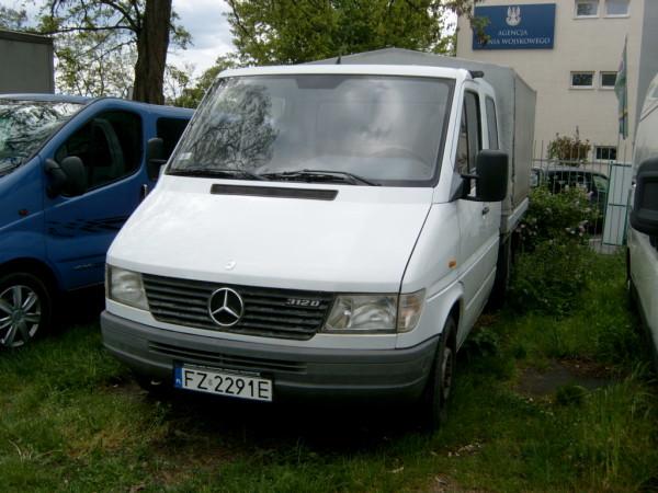 Mercedes Sprinter 1998r. 2874cm3 122KM 257800km olej napędowy (diesel)