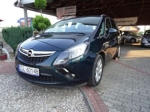 Opel Zafira 2014r. 1600cm3 136KM 180000km olej napędowy (diesel)
