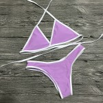 Super ujędrniające bikini dopasowane kolory mix L