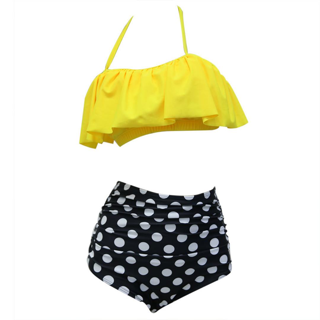 Cudowny strój kąpielowy bikini hiszpanka mega XL