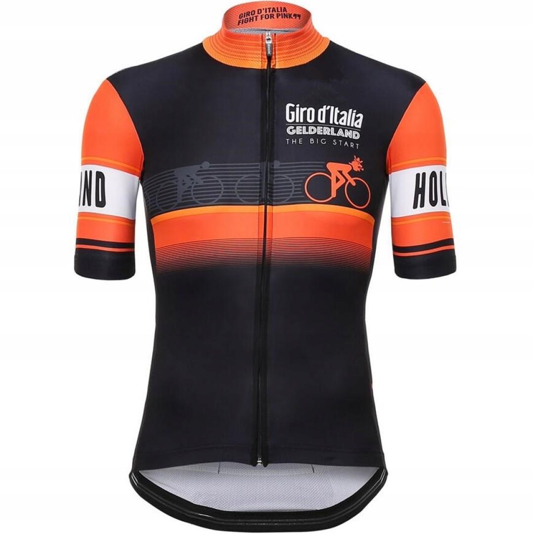 Elastyczna koszulka męska na rower różne wzory S