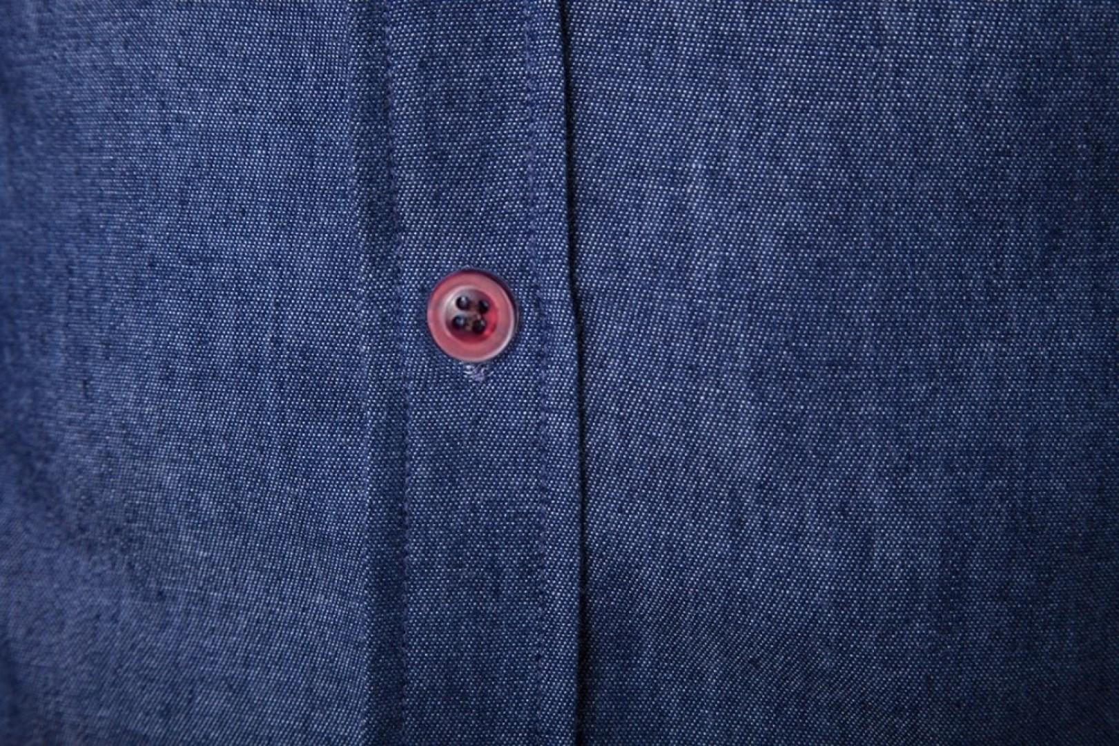 Jeansowa koszula męska slim fit CASUAL 2 kolory XL