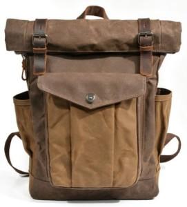 Duży plecak podróżny wycieczkowy pojemny wygodny