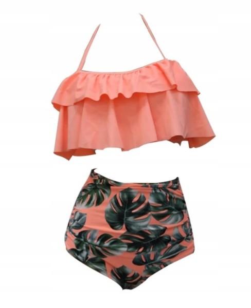 Cudowny strój kąpielowy bikini hiszpanka mega S
