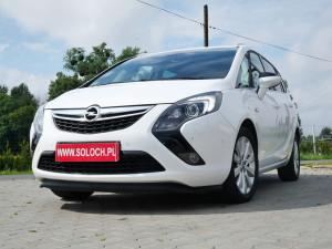 Opel Zafira 2014r. 2000cm3 165KM 96000km olej napędowy (diesel)