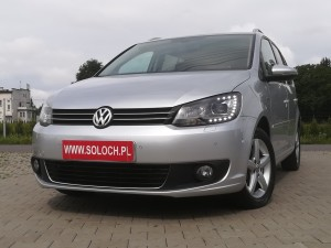 Volkswagen Touran 2015r. 2000cm3 140KM 133000km olej napędowy (diesel)