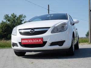 Opel Corsa 2007r. 1300cm3 75KM 208000km olej napędowy (diesel)