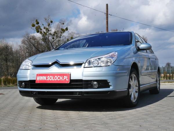 Citroen C5 2007r. 2000cm3 140KM 117000km benzyna+LPG
