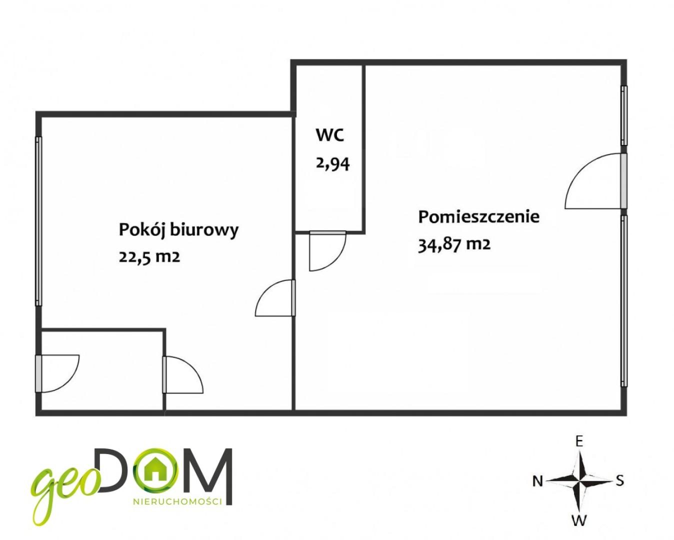 Lokal handlowo-usługowy / mieszkalny.
