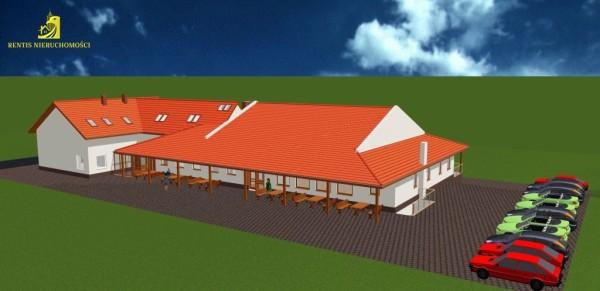 Dom weselny z pokojami gościnnymi (projekt)